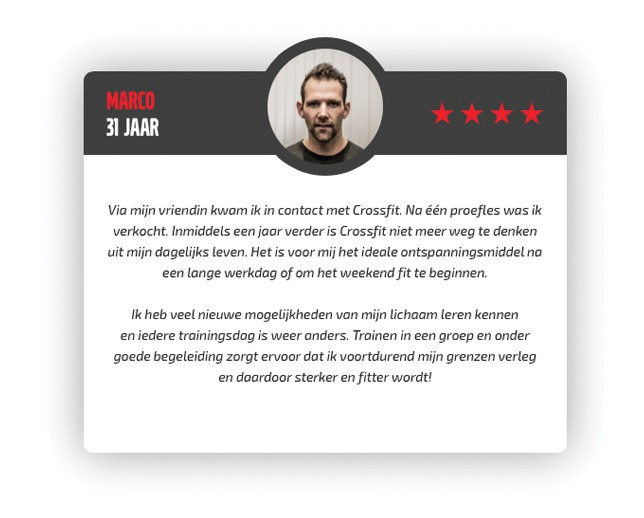 CrossFit Waalfront - 3. De Methodiek