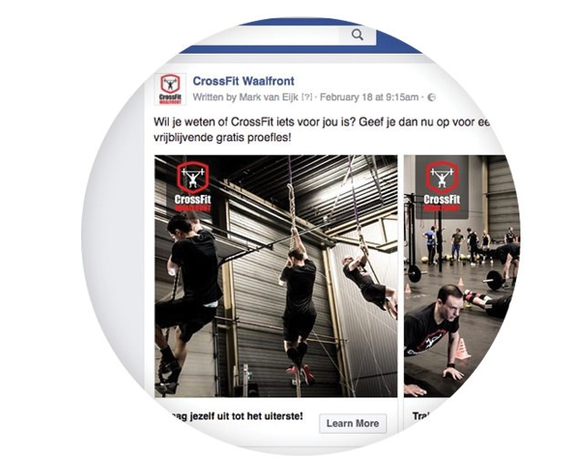 CrossFit Waalfront - 5. Marketing