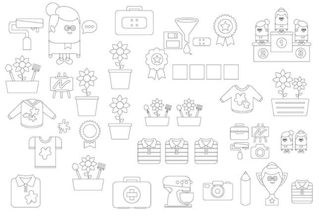 Oma Weet Raad - 5. Categorieën & iconen